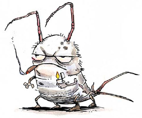 silverfish-cartoon